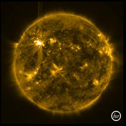 SDO X-ray Flare