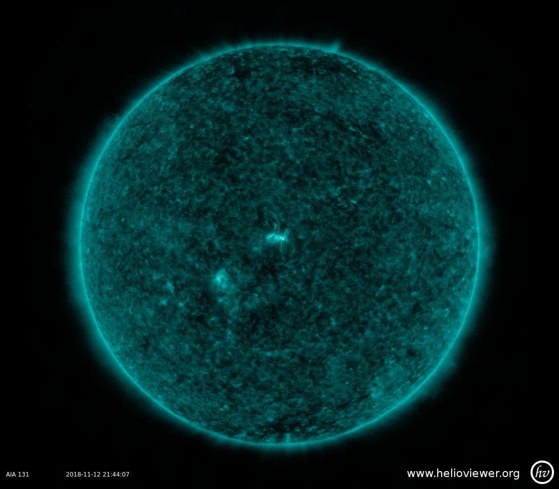 Solar Dynamics Observatory 2018-11-12T21:43:57Z
