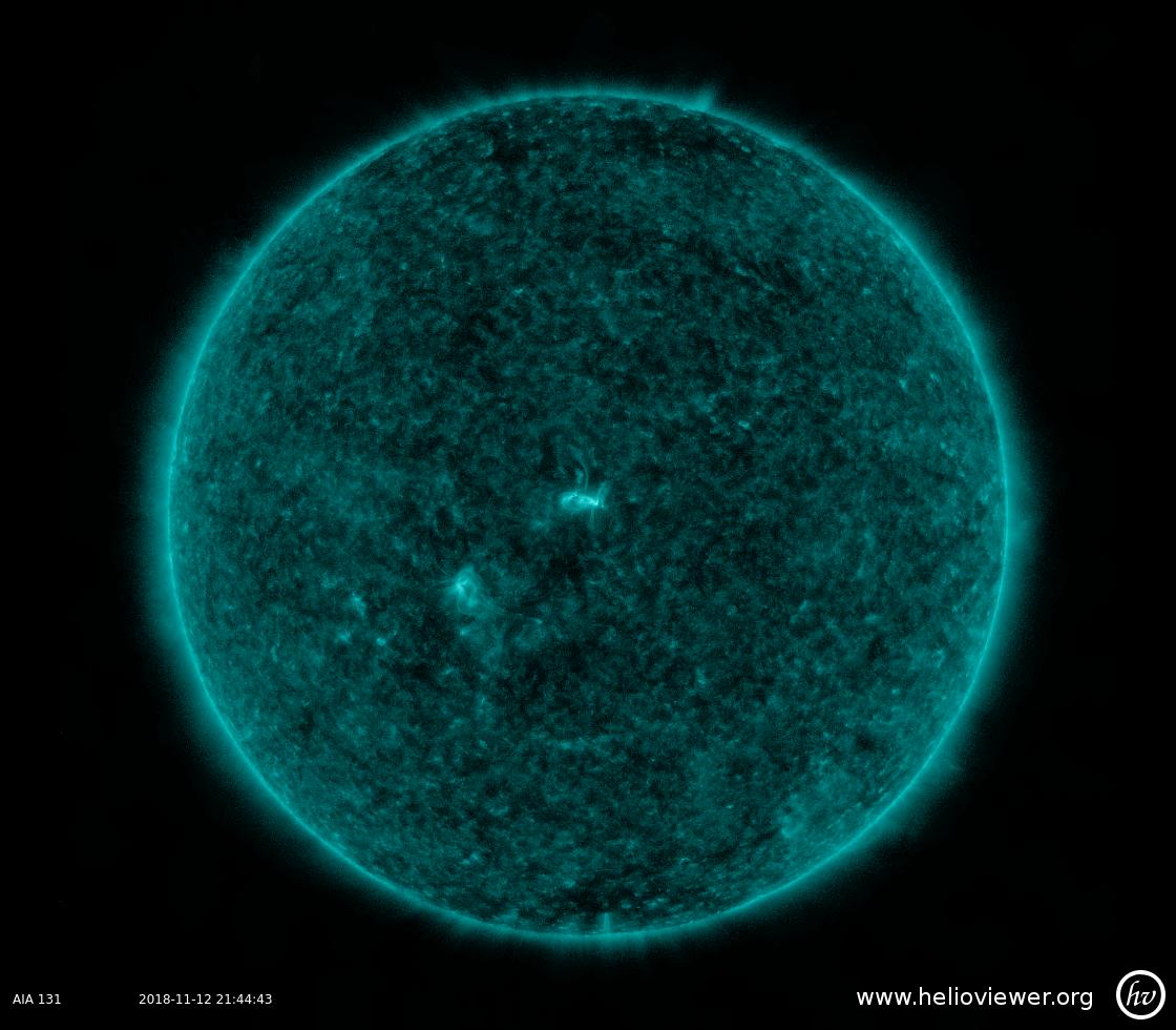 Solar Dynamics Observatory 2018-11-12T21:44:42Z