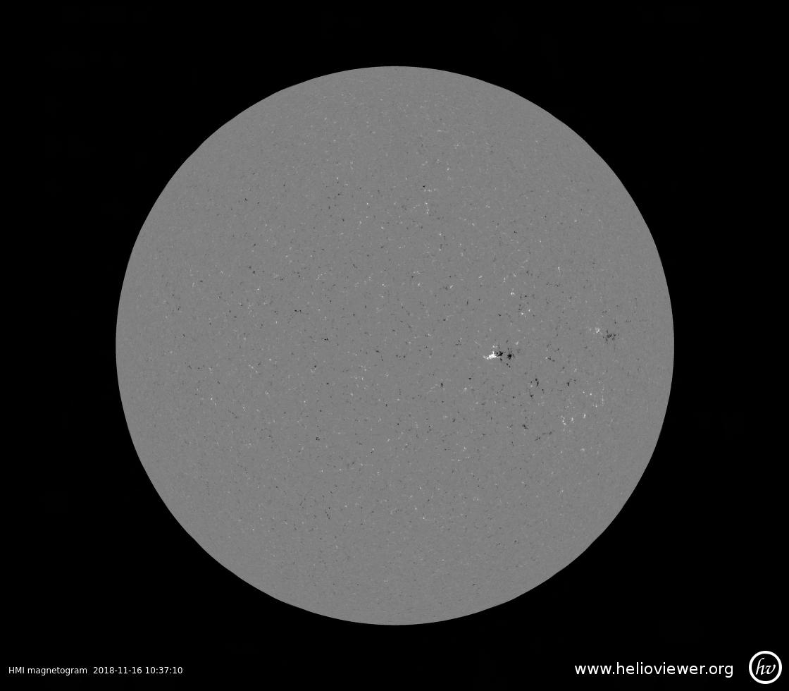 Solar Dynamics Observatory 2018-11-16T10:36:53Z