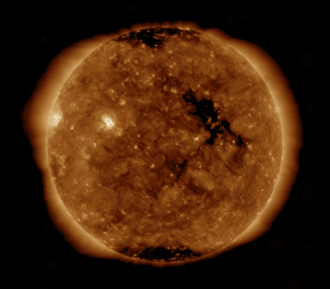 Solar Dynamics Observatory 2019-01-22T13:23:20Z