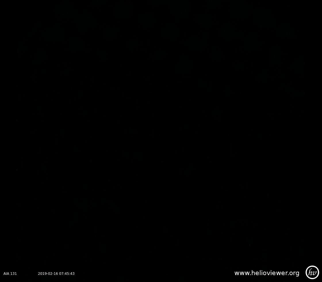 Solar Dynamics Observatory 2019-02-16T07:45:39Z