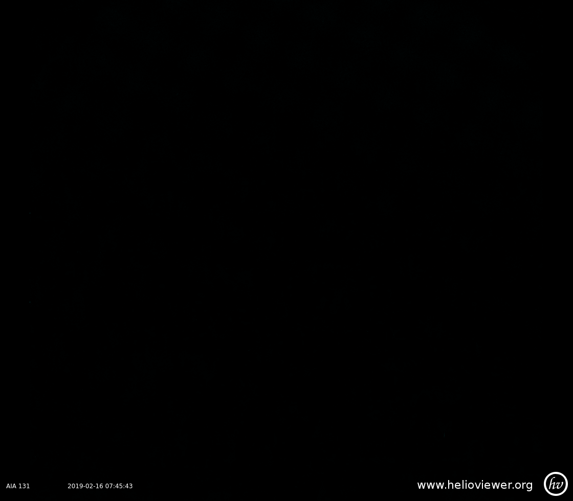 Solar Dynamics Observatory 2019-02-16T07:45:45Z