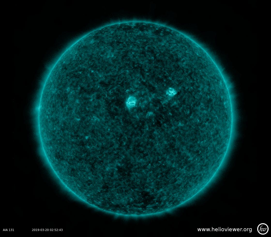 Solar Dynamics Observatory 2019-03-20T02:53:00Z