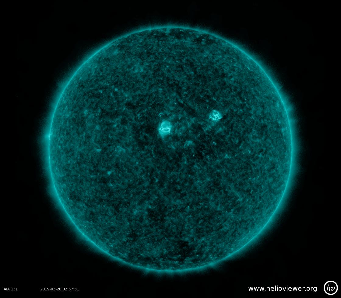 Solar Dynamics Observatory 2019-03-20T02:57:45Z