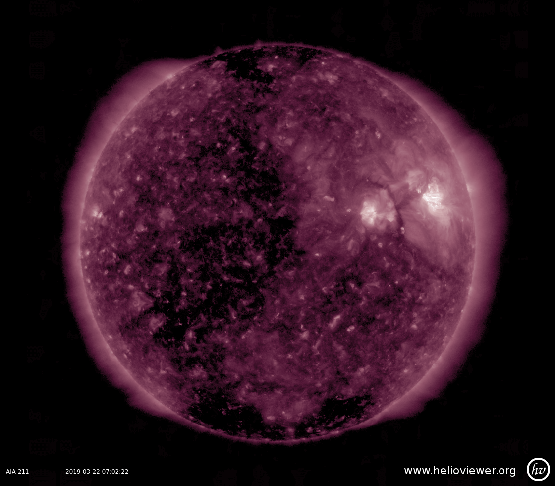 Solar Dynamics Observatory 2019-03-22T07:02:29Z