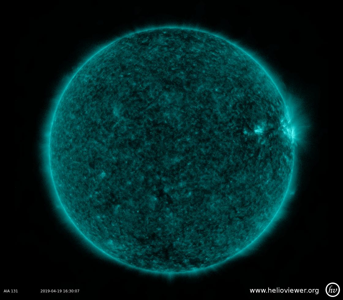 Solar Dynamics Observatory 2019-04-19T16:30:25Z