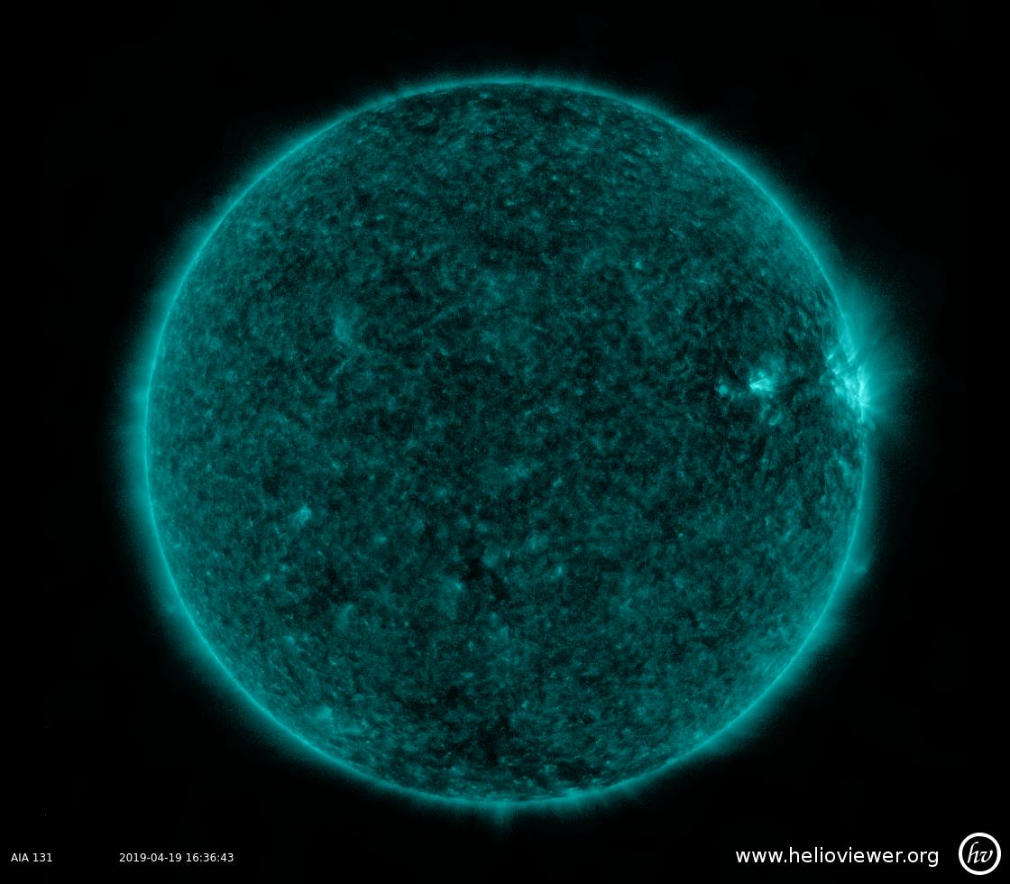 Solar Dynamics Observatory 2019-04-19T16:36:37Z