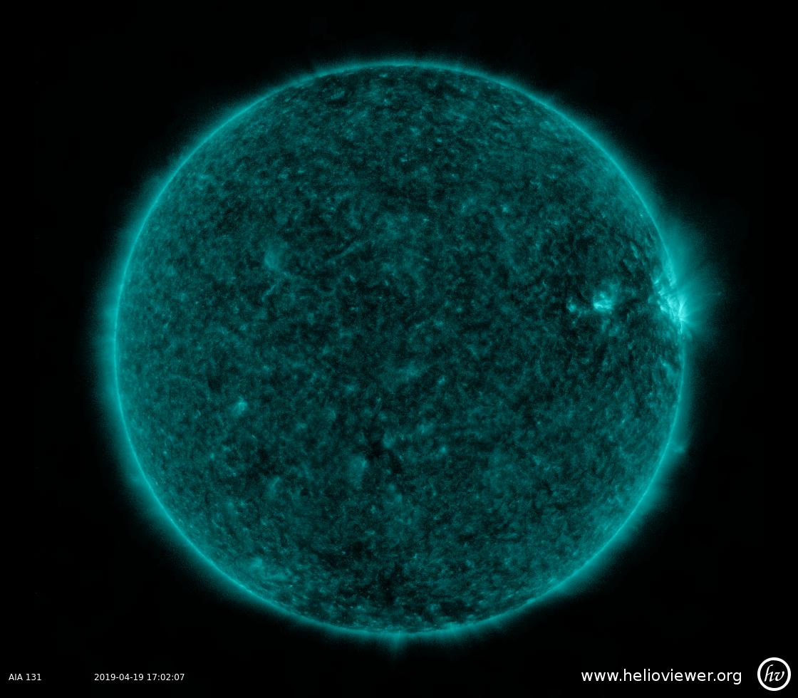 Solar Dynamics Observatory 2019-04-19T17:01:55Z