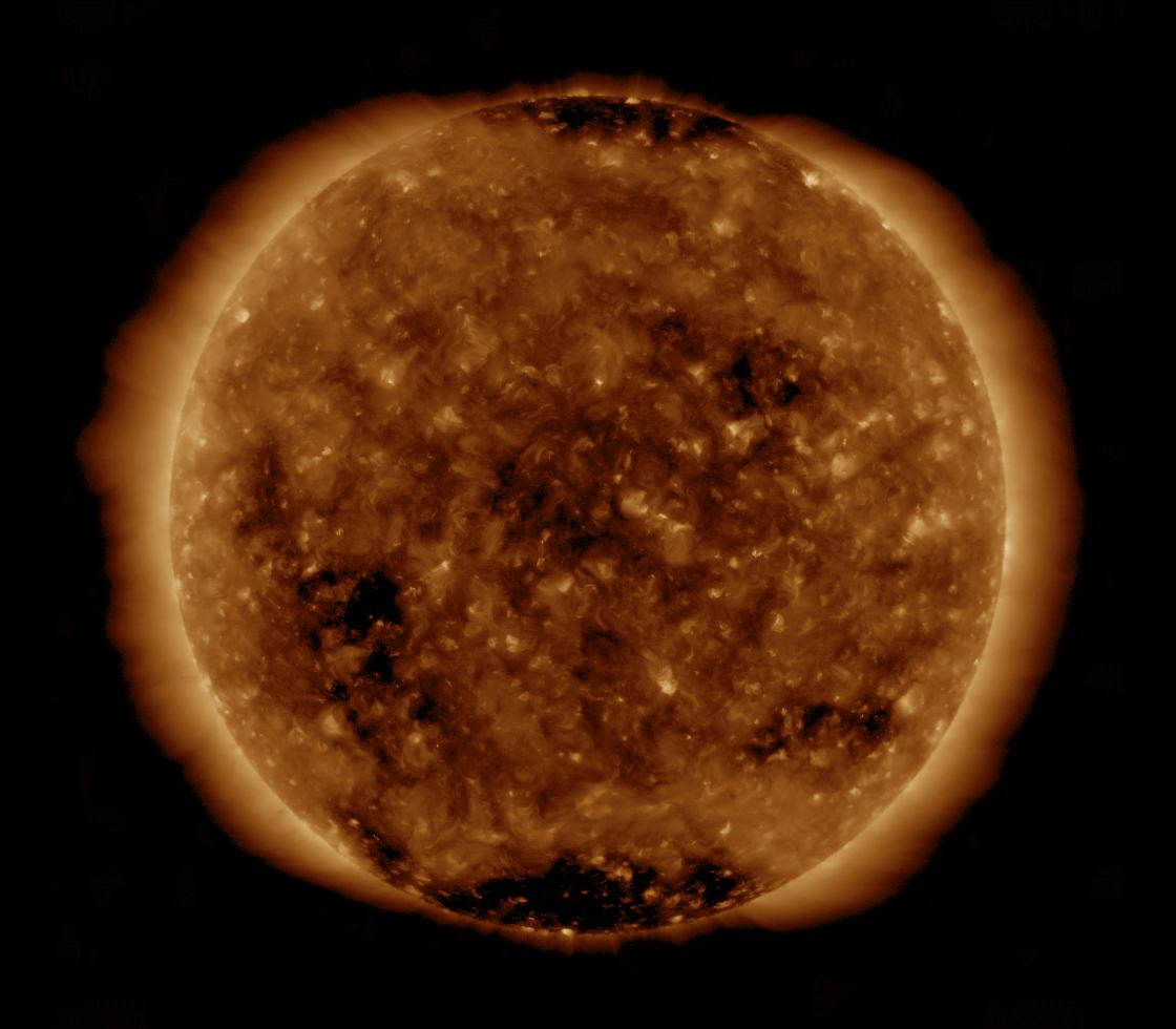 Solar Dynamics Observatory 2019-04-25T18:05:15Z