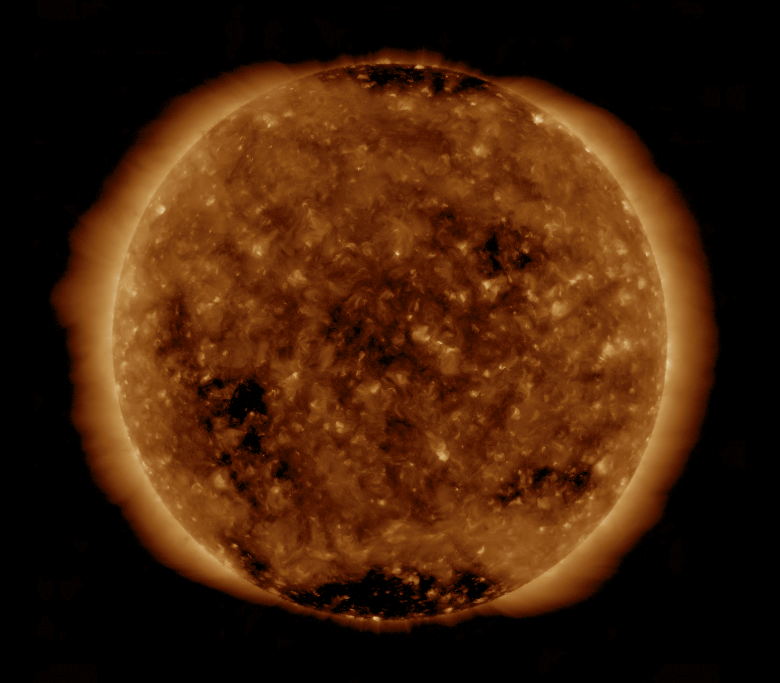 Solar Dynamics Observatory 2019-04-25T18:06:22Z