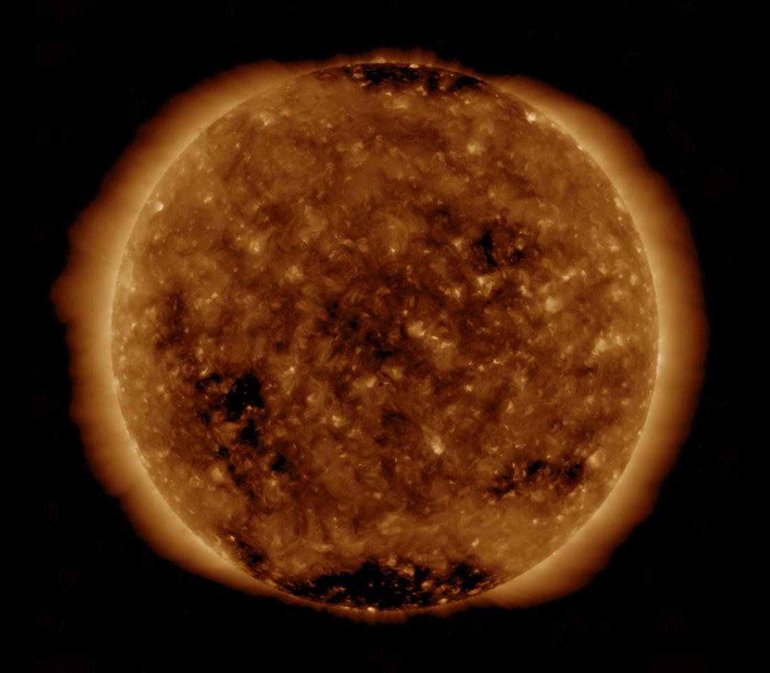 Solar Dynamics Observatory 2019-04-25T18:24:53Z