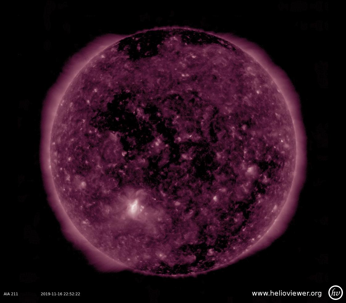 Solar Dynamics Observatory 2019-11-16T22:52:28Z