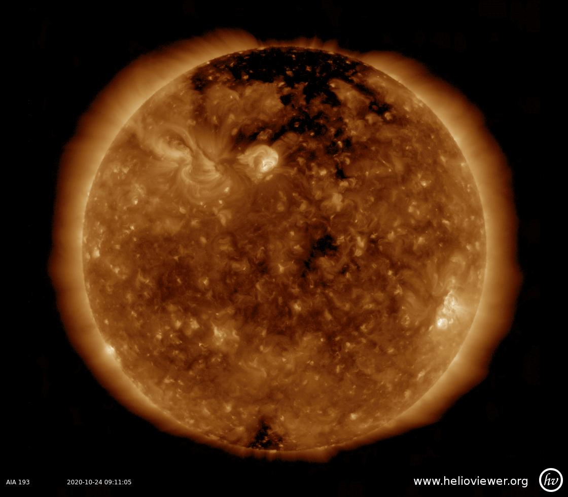 Solar Dynamics Observatory 2020-10-24T09:10:54Z