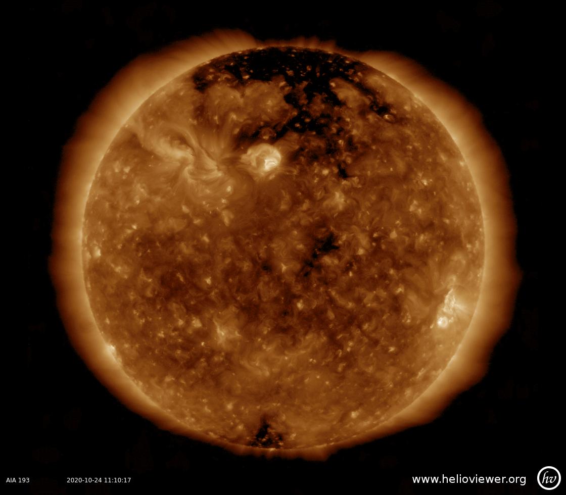 Solar Dynamics Observatory 2020-10-24T11:10:14Z