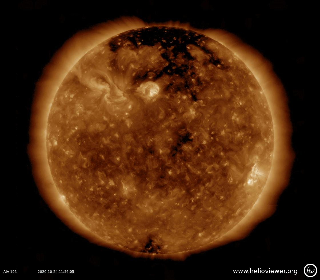 Solar Dynamics Observatory 2020-10-24T11:35:59Z