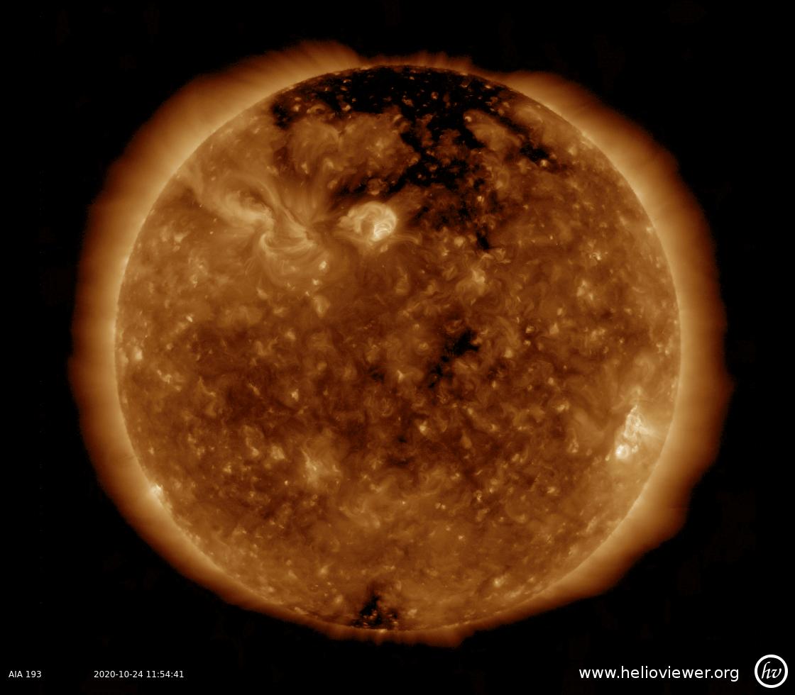 Solar Dynamics Observatory 2020-10-24T11:54:59Z
