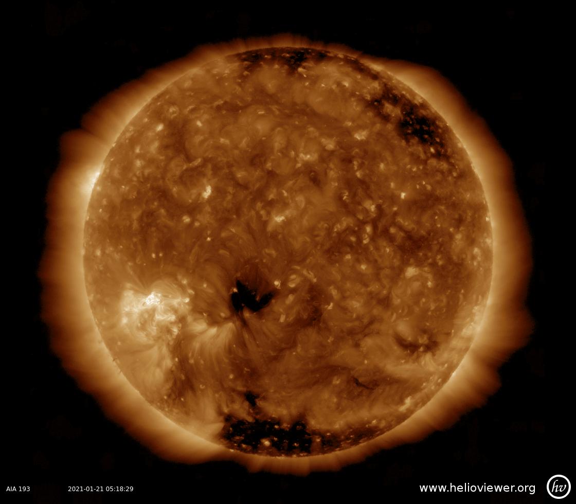 Solar Dynamics Observatory 2021-01-21T05:18:45Z
