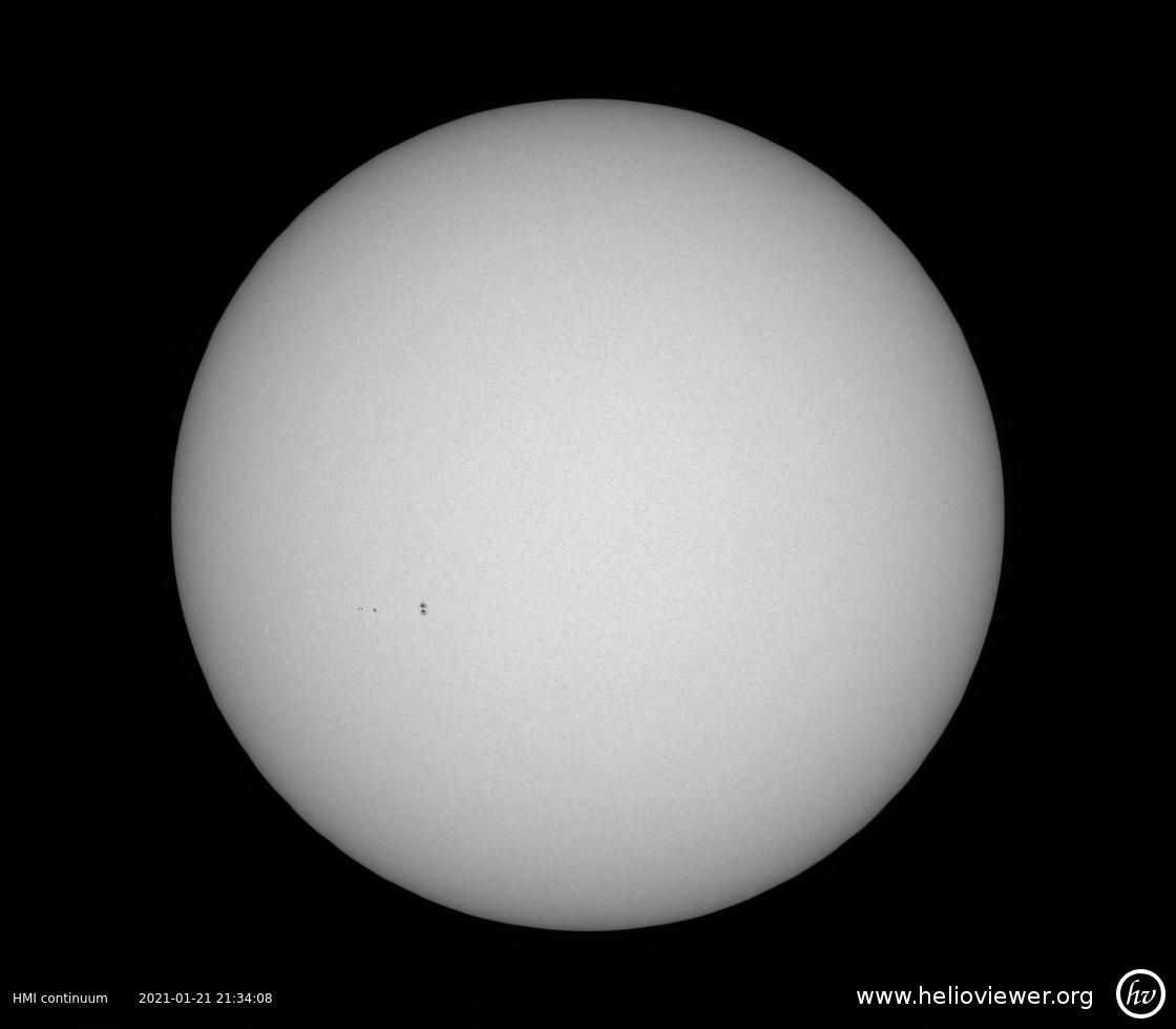 Solar Dynamics Observatory 2021-01-21T21:33:54Z