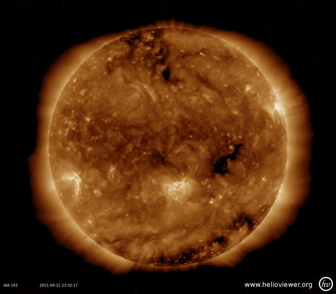 Solar Dynamics Observatory 2021-04-21T23:32:20Z