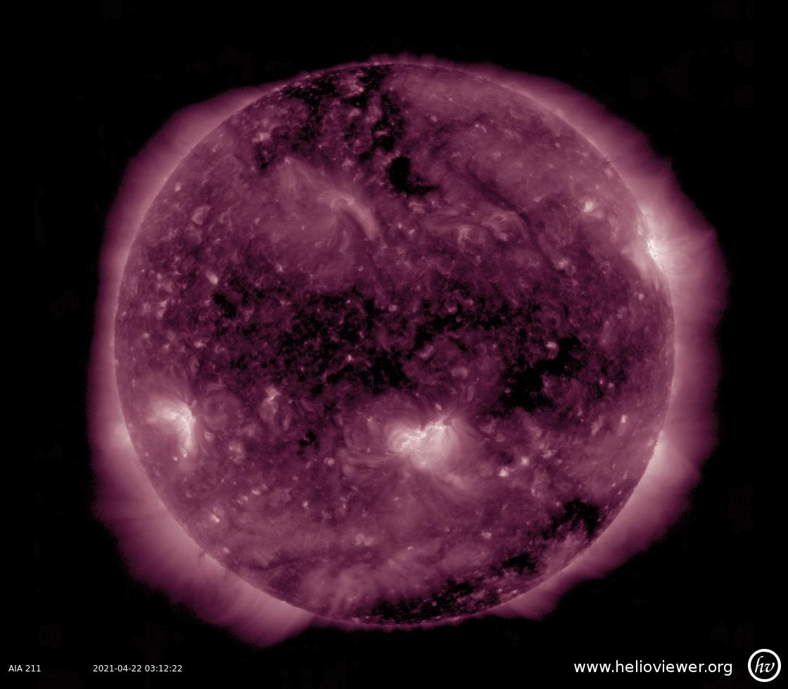 Solar Dynamics Observatory 2021-04-22T03:12:31Z
