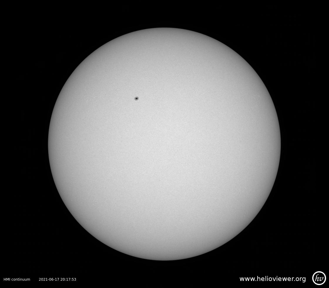 Solar Dynamics Observatory 2021-06-17T20:18:15Z