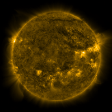 Latest image from Helioviewer.org.